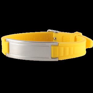 желтый браслет магнитный турмалиновый