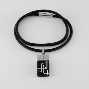 Турмалиновый кулон — Чёрный