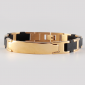 Стальной магнитный браслет «Gold Edition» — Чёрный
