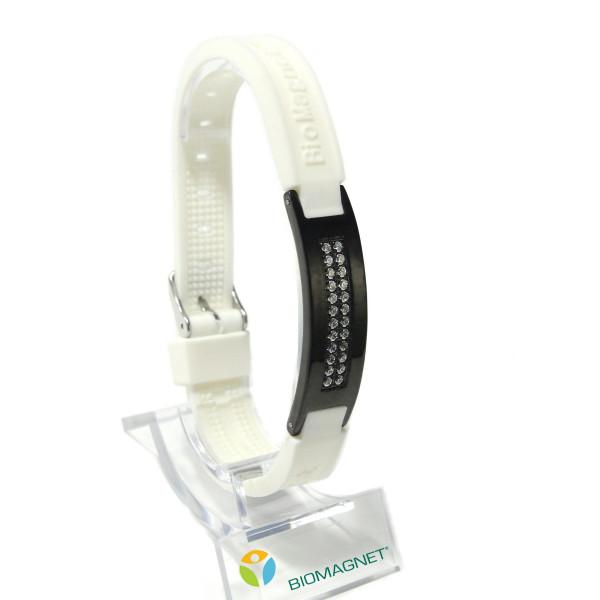турмалиновый браслет biomagnet  со сваровски