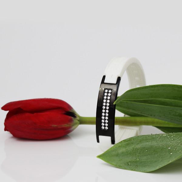 браслет для женщины с турмалином сваровски