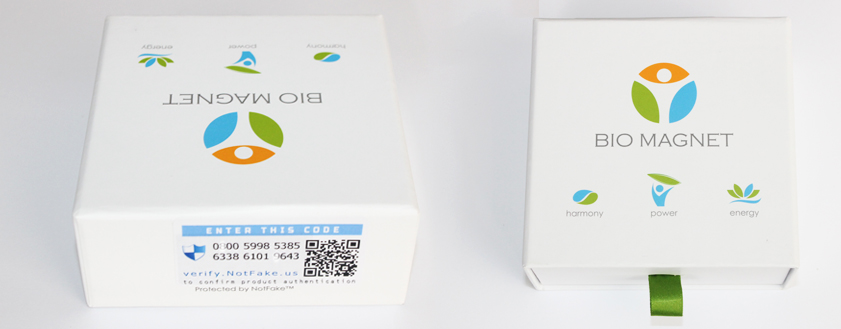 коробка турмалинового браслета Bio Magnet
