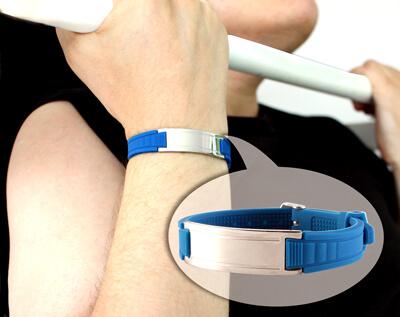 энергетический браслет с турмалином для спорта