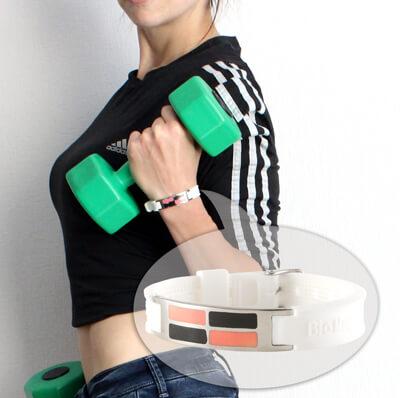 турмалиновый энергетический браслет для спорта