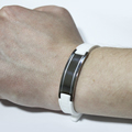 магнитный мужской браслет из медицинской стали