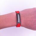 красный магнитный турмалиновый браслет для женщин