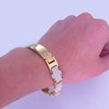 магнитный женский браслет из медицинской стали