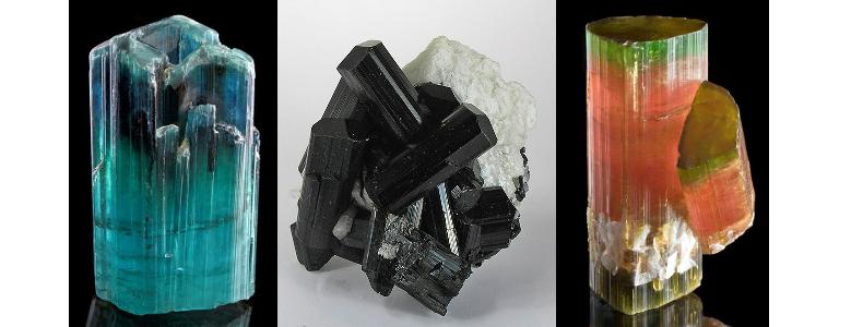месторождения и виды камня турмалин